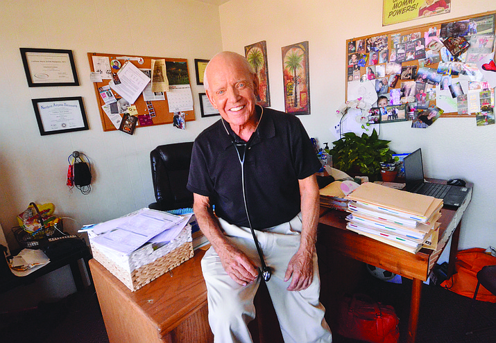 Robert H. Jochim, M.D., will be moving out of his Cottonwood office where he has been an obstetric/gynecology physician since 1974. VVN/Vyto Starinskas