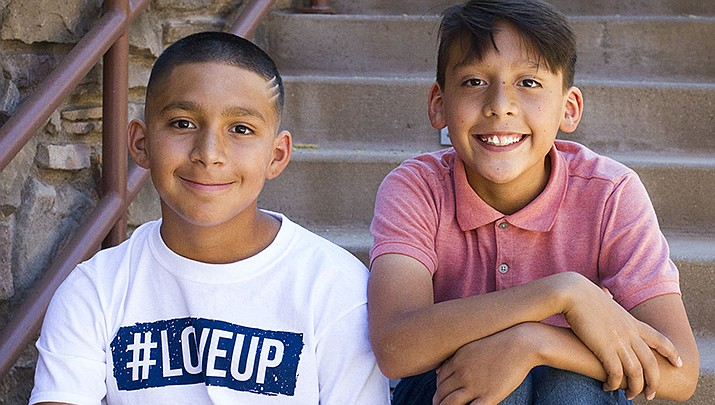 Get to know Angel and Juan at https://www.childrensheartgallery.org/profile/angel-and-juan and other adoptable children at childrensheartgallery.org. (Arizona Department of Child Safety)