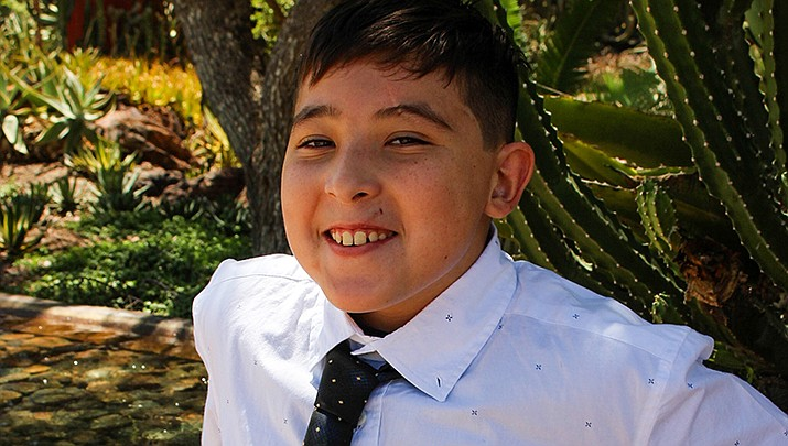 Get to know Gabriel at https://www.childrensheartgallery.org/profile/gabriel-j and other adoptable children at childrensheartgallery.org. (Arizona Department of Child Safety)