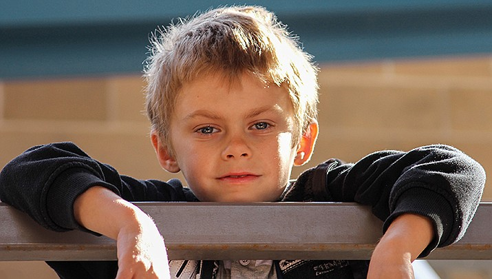 Get to know Logan at https://www.childrensheartgallery.org/profile/logan-f other adoptable children at childrensheartgallery.org. (Arizona Department of Child Safety)