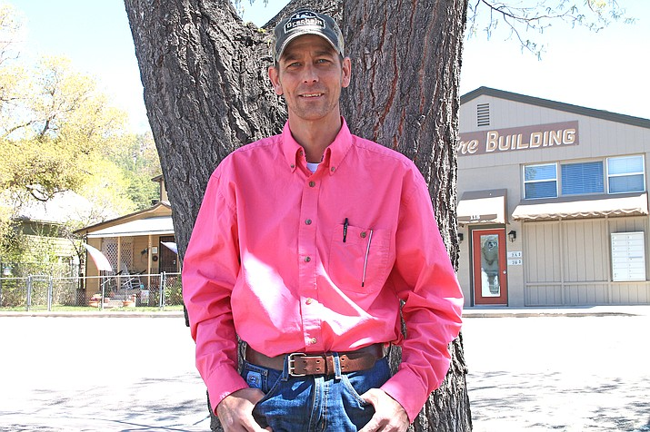Jason Moore is the new fire inspector for the city of Williams. His first day on the job was April 26. (Loretta McKenney/WGCN)