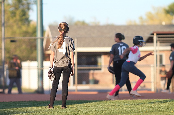 The Williams Scrappers, a Majors softball team, faced Flagstaff May 11. (Loretta McKenney/WGCN)