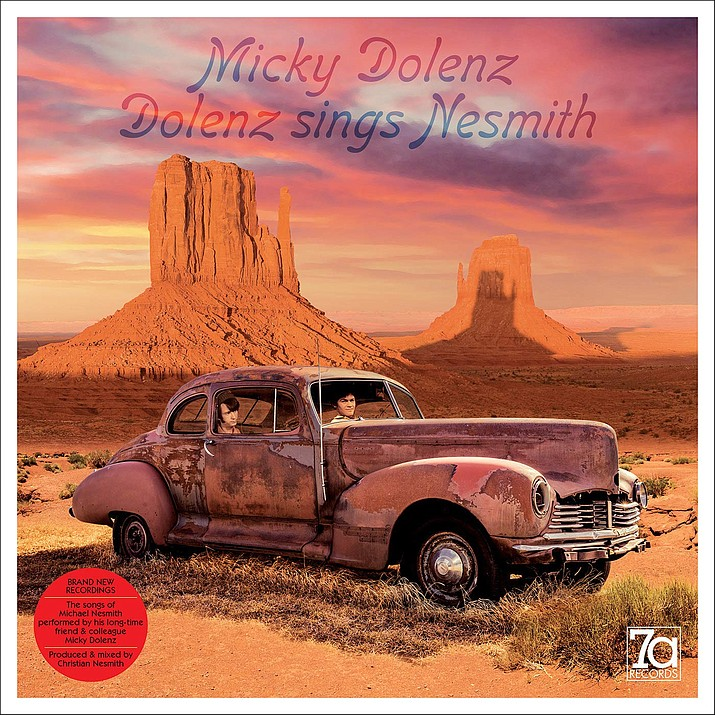 """Micky Dolenz's first new solo studio album in nine years is """"Dolenz Sings Nesmith."""""""