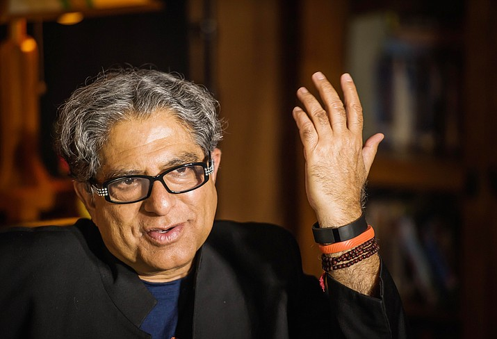 Deepak Chopra will receive the festival's fifth annual Conscious Visionary Award Tuesday, May 25, following the world premiere screening of The Way of Miracles at the Mary D. Fisher Theatre.