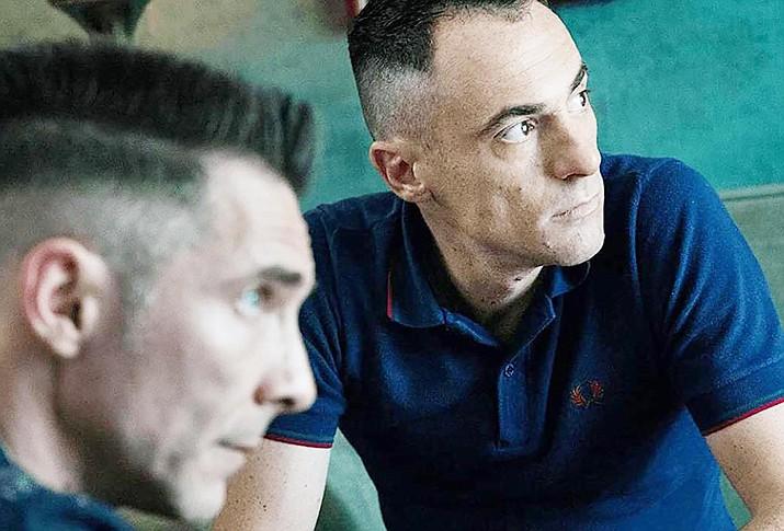 Elio Germano and Max Malatesta in 'Favolacce.' Strand Releasing