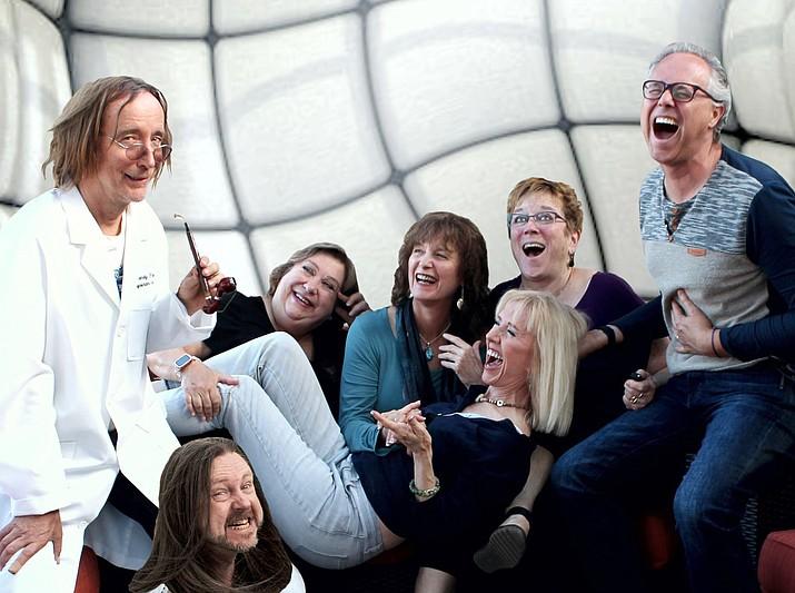 The super minds of Zenprov Comedy are Derek Dujardin, Shaeri Richards, Shaunn Cochran, Chris Redish, Betty Testa, Linda Roemer and Mary Carder.