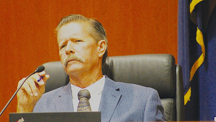 Mohave County Supervisor Ron Gould said unincorporated fire districts in the county are now working with Arizona officials to seek federal reimbursement for pandemic-related expenses. (Miner file photo)