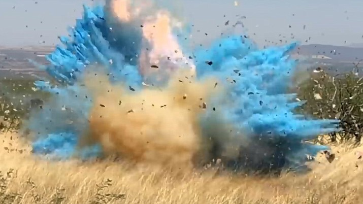 Police in Kingston, a town not far from the Massachusetts stateline, received reports of a loud explosion the night of April 20. The source was Tannerite — 80 pounds of it, typically sold over the counter as a target for firearms practice, police said. It was an explosive gender reveal party. (U.S. Forestry Service)
