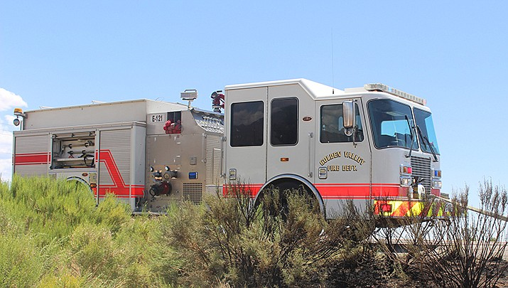 A body was recovered from a travel trailer that burned in Golden Valley on Monday, May 17. (Miner file photo)