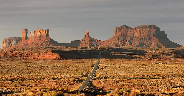 The Navajo Nation has by far the largest land mass of any Native American tribe in the country. Now, it's boasting the largest enrolled population, too. The number grew to nearly 400,000 because of payments made to individual Navajos for hardships during the pandemic. The tribe now tops the Cherokee Nation's enrollment of 392,000, but a tribal spokeswoman says the Oklahoma tribe also is growing. (AP Photo/Rick Bowmer, File)