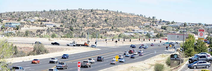The intersection of Highway 69 and Yavpe Connector, northeast corner, is the future site for a casino, pictured in 2014 when the concept first surfaced. The Yavapai-Prescott Indian Tribe on May 21, 2021, announced it has restarted the plans. (Courier file)