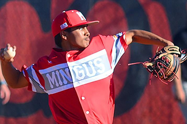 Mingus Union baseball junior Jan Alvarez was namedFirstTeam All-4A Grand Canyon Region Position Player in the 4A Grand Canyon Region for 2021.