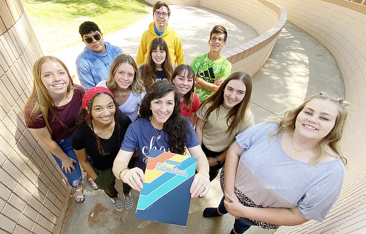 For the seventh consecutive year, Camp Verde's yearbook staff has won a Gallery of Excellence award from Walsworth Publishing. VVN/Bill Helm