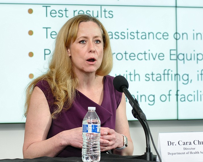 Dr. Cara Christ. (Capitol Media Services file photo)