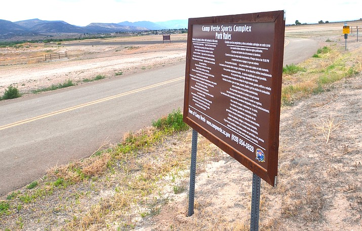 The Camp Verde Town Council has approved funding to build the sports fields at the Camp Verde Sports Complex. VVN/Vyto Starinskas