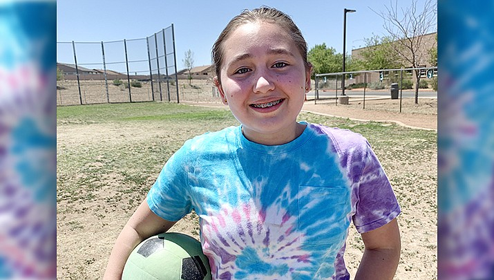 Alexandria - from Granville Elementary School - is this week's Humboldt Unified School District Student of the Week. (Courtesy)