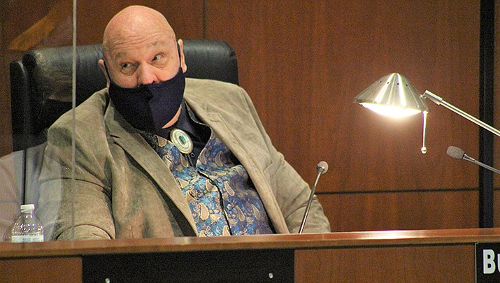 Mohave County has received $20.6 million in federal coronavirus relief funding. County Board of Supervisors Chairman Buster Johnson is pictured. (Miner file photo)