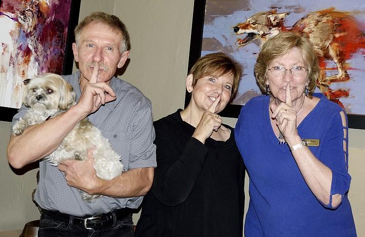 Wildlife sculptor and gallery co-owner Ken Rowe, and his wife, gallery co-owner Monica Rowe, have a secret.