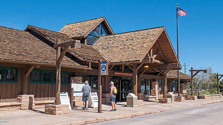 The Grand Canyon Backcountry Information Center opened May 6. The center closed last year because of the coronavirus pandemic. (Photo/NPS)