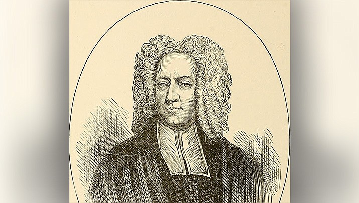 The Rev. Cotton Mather was a proponent of innoculation when smallpox arrived in Boston in 1721. (Library of Congress/Public domain)