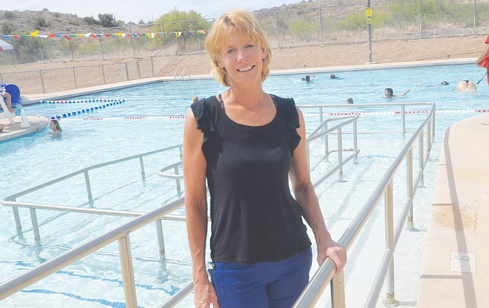 Swim Coach and Heritage Pool supervisor Jato is starting a new swim team at the Heritage pool in Camp Verde. VVN/Vyto Starinskas