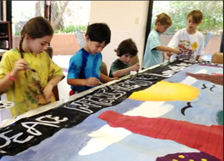 The mission of Camp Bear Wallow is to inspire and encourage children to explore, create and invent using artist's tools and the artist's eye in the hopes of developing a joyful well rounded creative young adult.