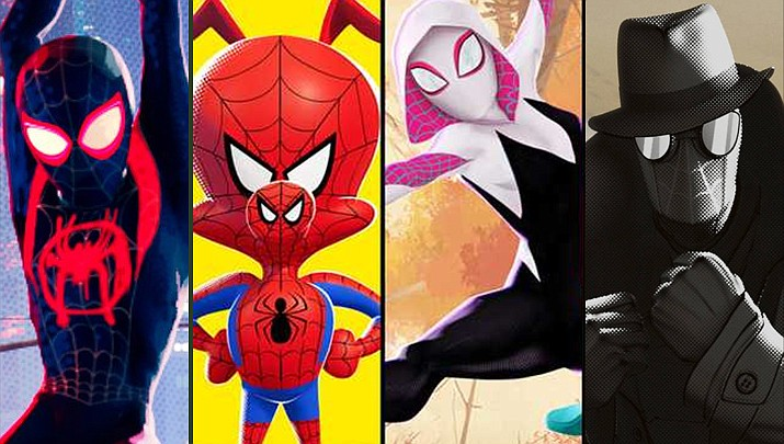 """The Town of Prescott Valley's next free Outdoor Movies Under the Stars is June 11, 2021. The movie will be """"Spider Man – Into the Spider-Verse."""" Show off your superhero spirit by dressing up as your favorite superhero. The series is held at the Theater on the Green. (Marvel/Courtesy)"""