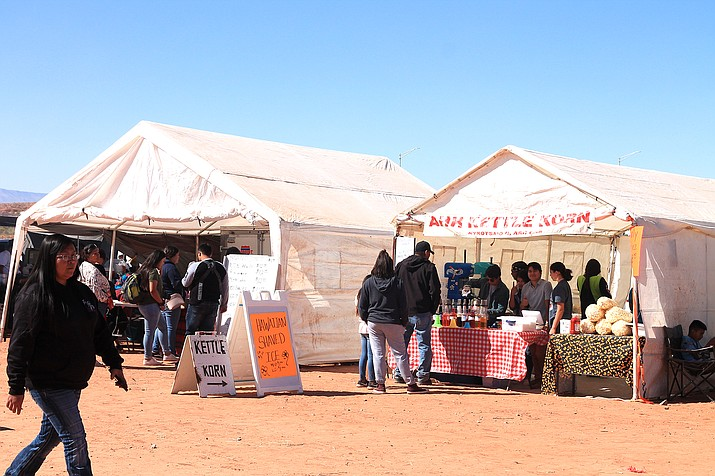 The Navajo Nation Health Command Operations Center and Navajo Department of Health announced restrictions for roadside food stands, flea markets and vendors can resume operations on the Navajo reservation. (Loretta McKenney/WGCN)