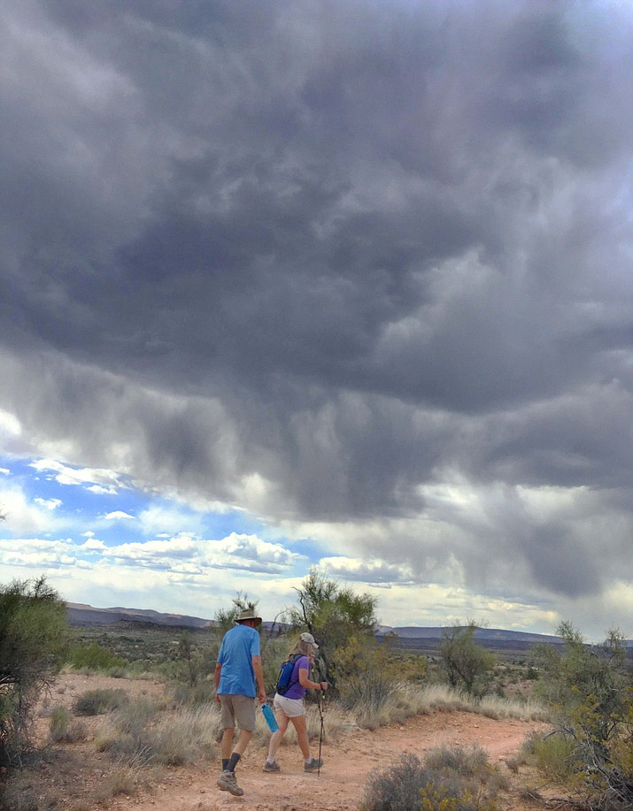 Monsoon watch over the Verde Valley. How many raindrops did you get? When will Arizona come out of its 20-year drought? VVN/Vyto Starinskas