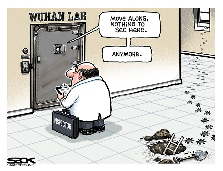 Editorial cartoon (2): June 2, 2021