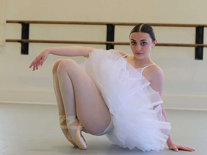 Ballet Dancer Madeline Coury will attend the summer ballet program at the acclaimed Kirov Academy Washington D.C. (Anna Miller/Courtesy)