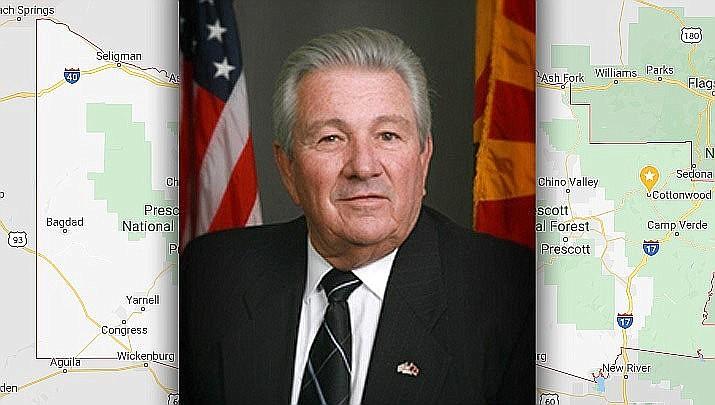 Yavapai County Board Chairman Craig Brown