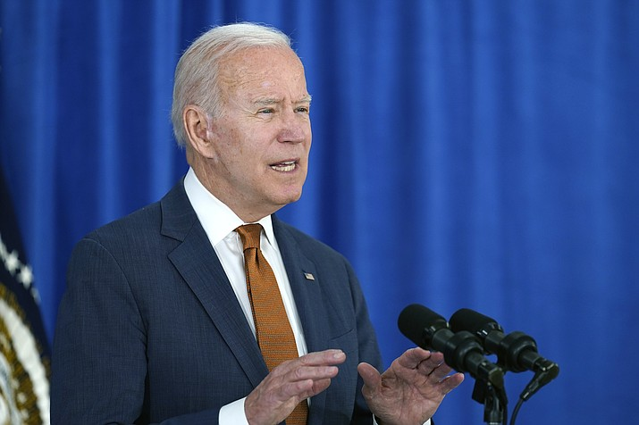 President Joe Biden talks about the May jobs report from the Rehoboth Beach Convention Center in Rehoboth Beach, Del., Friday, June 4, 2021. (Susan Walsh/AP)