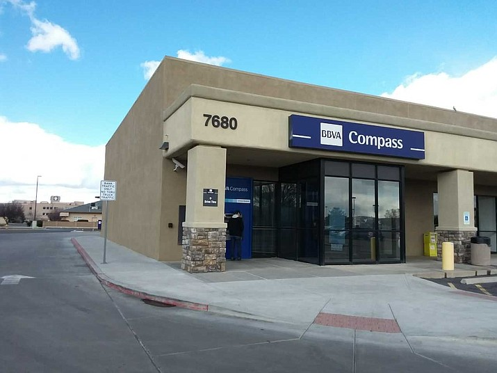 Pittsburgh-based PNC Bank announced in a June 3 news release that on June 1 it had acquired BBVA USA, which operates a branch apiece in Prescott, 923 E. Gurley St., and this one in Prescott Valley at 7680 E. Highway 69. (BBVA USA/Courtesy)