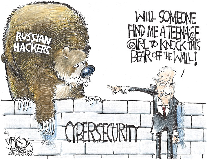 Editorial cartoon (2): June 6, 2021