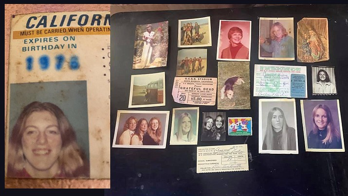 """""""Does anyone know Colleen Distin?"""" the Majestic Ventura Theater asked on its Facebook page. """"While doing some maintenance we have found her wallet. There are a bunch of pictures of people, and they are super cool from that era also. Someone may want them. So if you are, or if you know Colleen, drop us a line and we will have it here for you!"""" (Majestic Ventura Theater Facebook page)"""