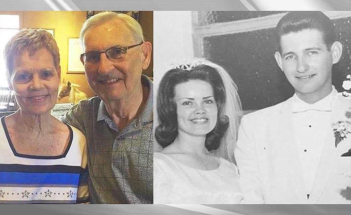 Cottonwood's Thomas and Diana Serafini were married June 10, 1966, in Santa Fe Springs, California.