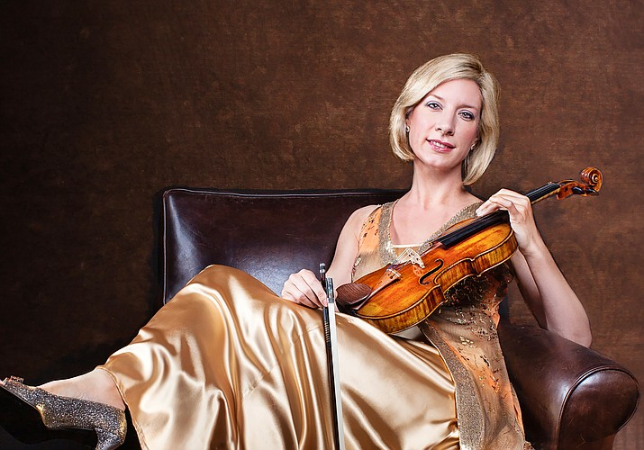 The Sedona International Film Festival will present Elizabeth Pitcairn performing on the Red Violin live, on stage at the Sedona Performing Arts Center on Saturday, June 12 at 7 p.m.