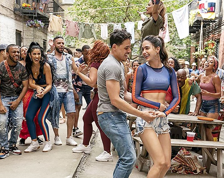 """""""In the Heights"""" centers on a variety of characters living in the neighborhood of Washington Heights, on the northern tip of Manhattan and what it means to be home."""
