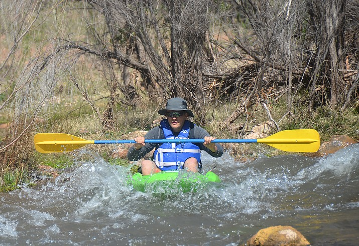 The Town of Clarkdale has set up a fabulous kayak run on the Verde River, which flows along Sycamore Canyon Road. This section is perfect for beginners to get their feet wet, and for experienced kayakers to have fun and show off their skills. VVN/Vyto Starinskas