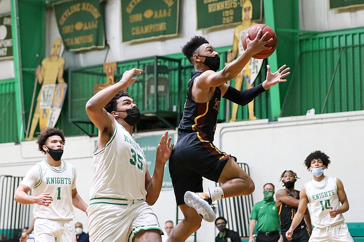 Many high school coaches in Arizona are in support of adding a shot clock to high school games. Corona del Sol boys basketball coach Neil MacDonald believes adding one is a logical move. (Alina Nelson/Cronkite News file photo)