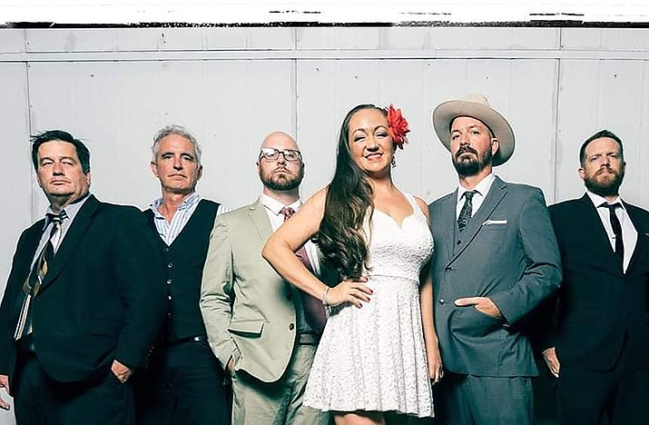 """Self-described as playing """"meat shakin' blues,"""" the Sugar Thieves always put on a fun and lively show.  The Tempe-based band will perform at Cottonwood Main Stage June 12."""