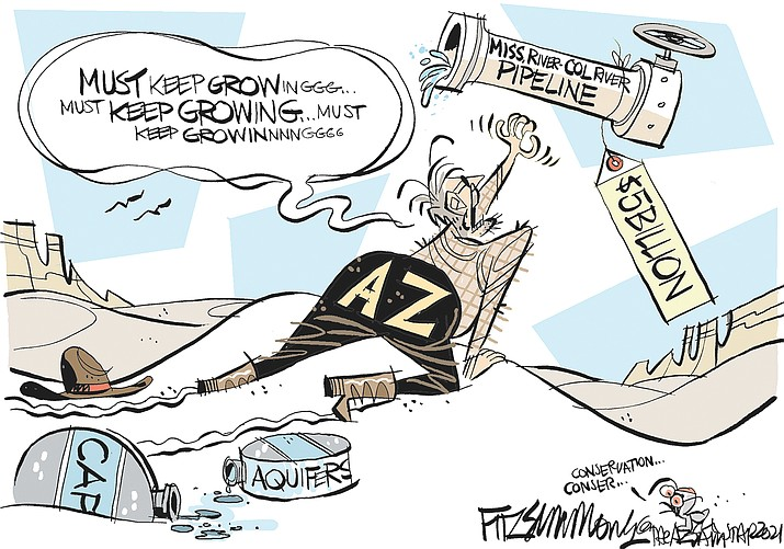 Editorial cartoon (1): June 9, 2021