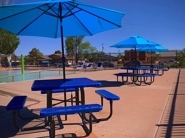 The Winslow swimming pool opened for the season June 1. (Photo/City of Winslow)