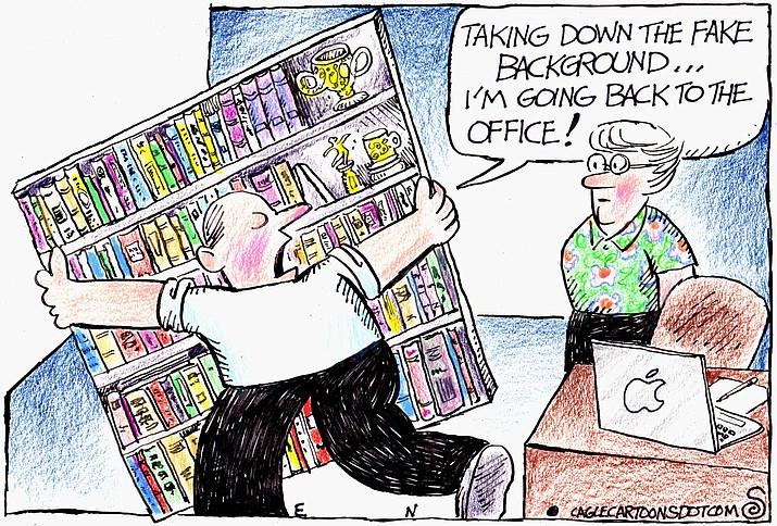 Editorial cartoon (2): June 11, 2021