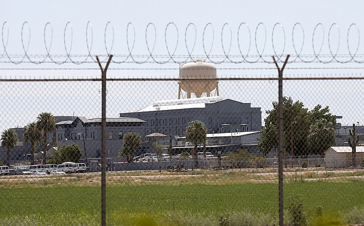 This this July 23, 2014, file photo, shows the state prison in Florence, Ariz., where corrections officials refurbished the state's gas chamber in December 2020 as the state tries to resume executions after a nearly seven-year hiatus. The last lethal-gas execution in the United States was carried in Arizona in 1999. The state also purchased materials in late 2020 to make hydrogen cyanide gas, which was used in executions in the U.S. and by the Nazi to kill 865,000 Jews at the Auschwitz concentration camp alone. (AP Photo/File)