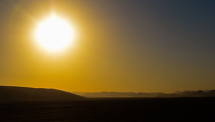 An excessive heat watch will be in effect for the Kingman area beginning Monday, June 14. (Adobe image)