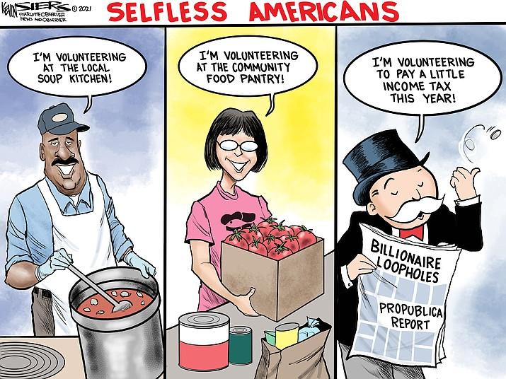 Editorial cartoon (2): June 14, 2021