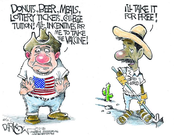 Editorial cartoon (2): June 13, 2021