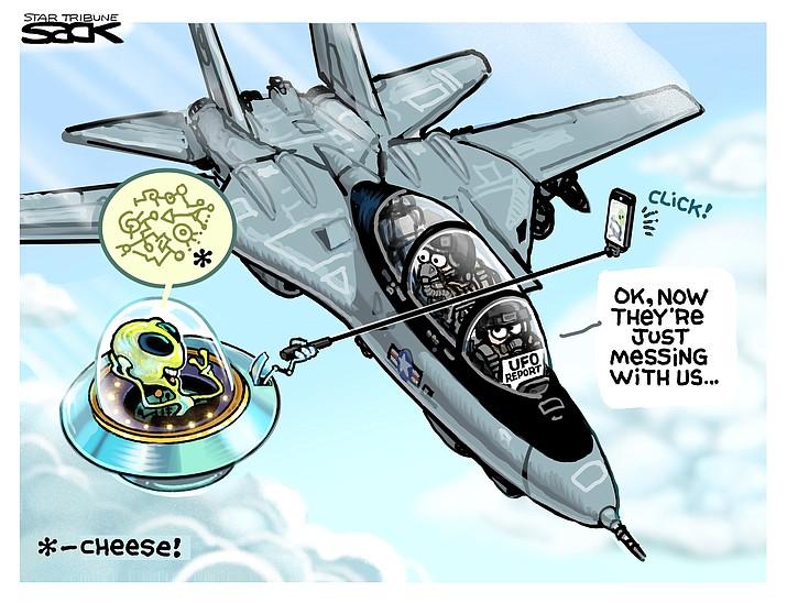 Editorial cartoon (1): June 14, 2021